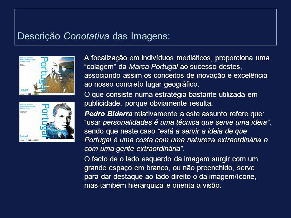 Descrição Conotativa das Imagens: