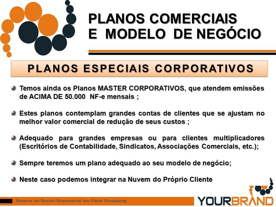 PLANOS ESPECIAIS CORPORATIVOS