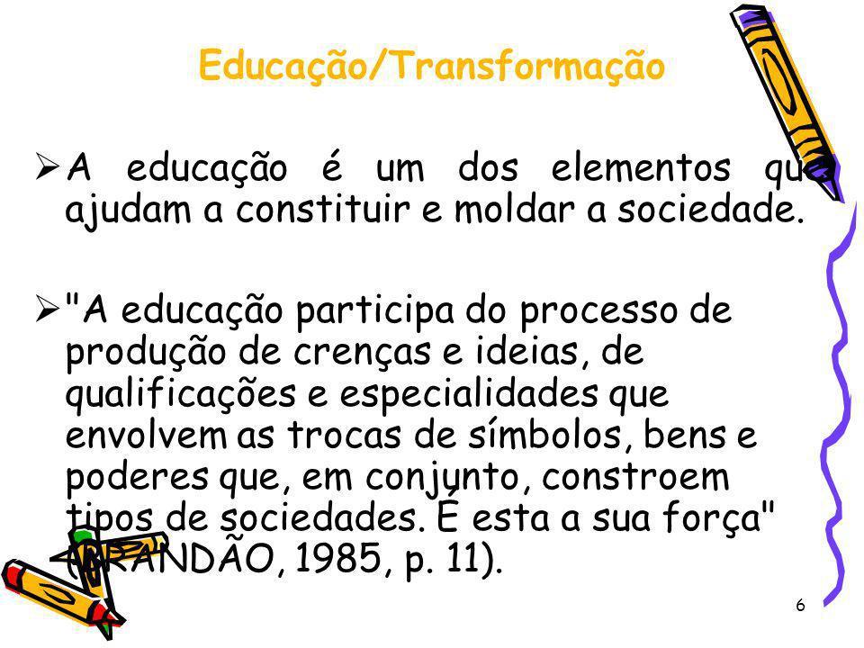 Educação/Transformação