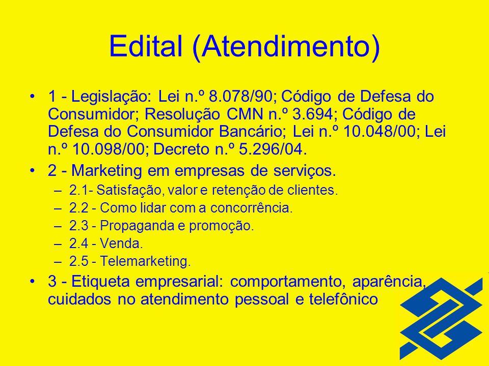 Edital (Atendimento)