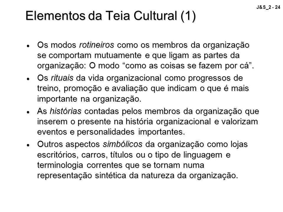 Elementos da Teia Cultural (1)