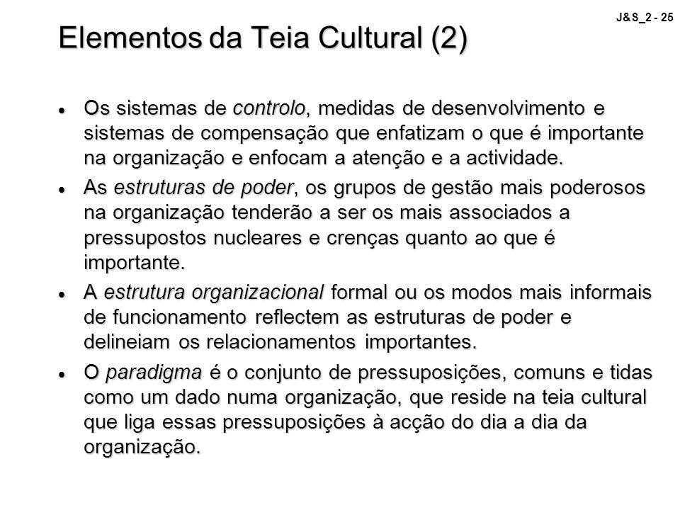 Elementos da Teia Cultural (2)