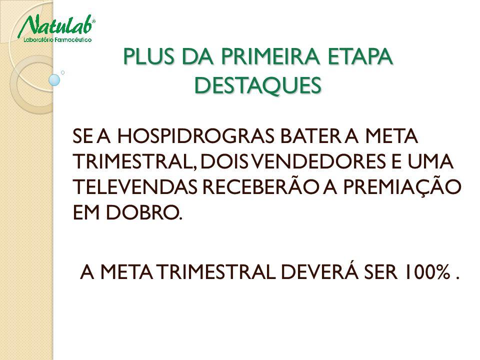 PLUS DA PRIMEIRA ETAPA DESTAQUES
