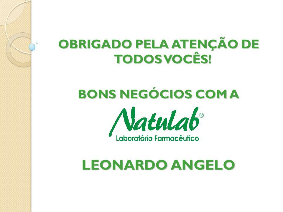 OBRIGADO PELA ATENÇÃO DE TODOS VOCÊS!
