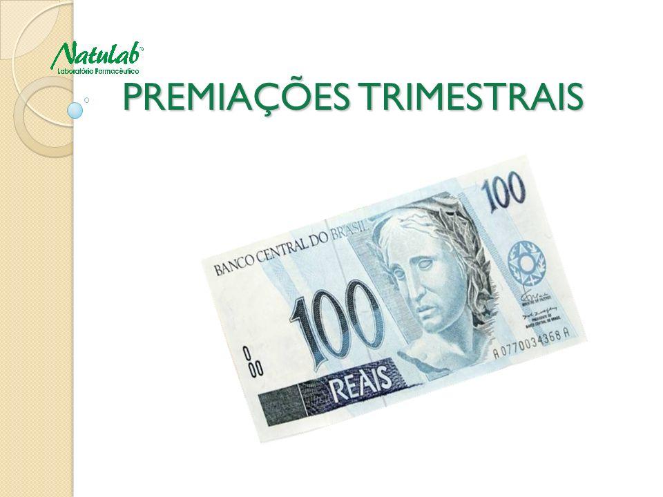 PREMIAÇÕES TRIMESTRAIS