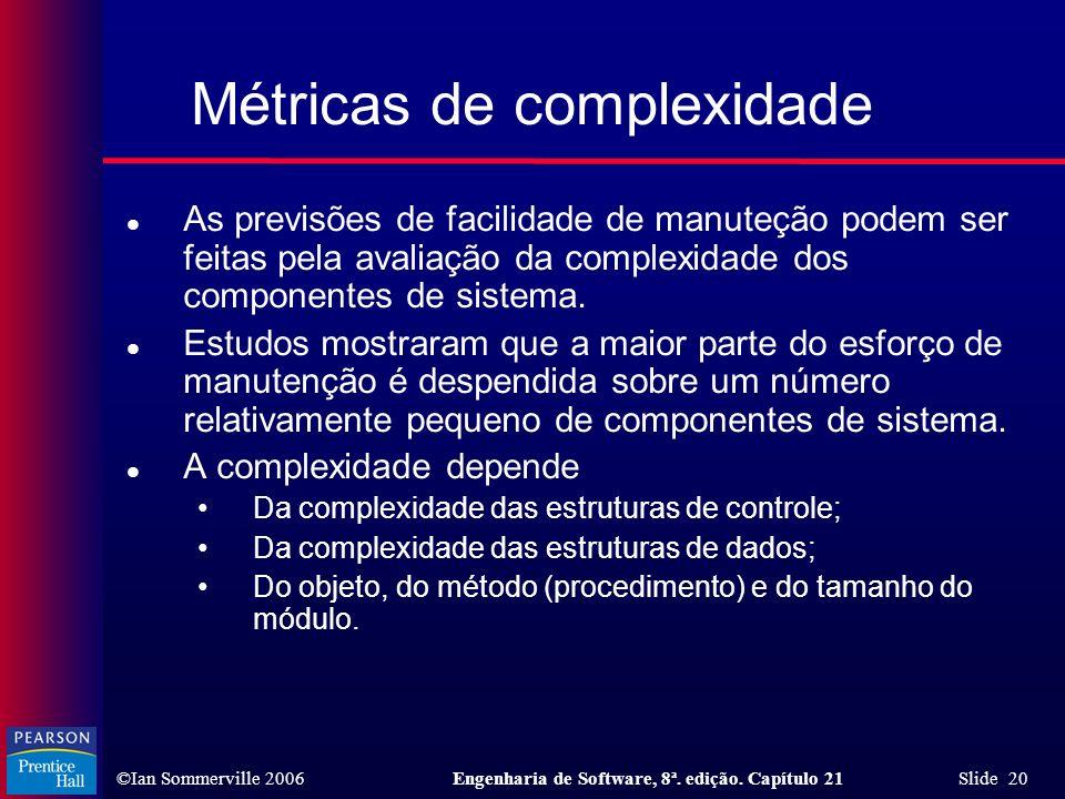 Métricas de complexidade