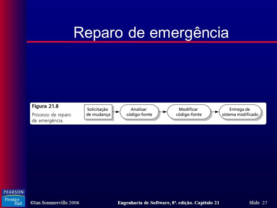 Reparo de emergência