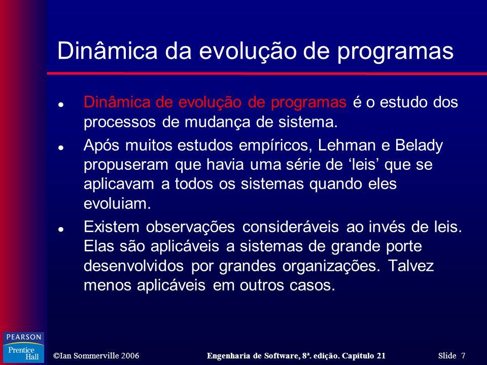 Dinâmica da evolução de programas