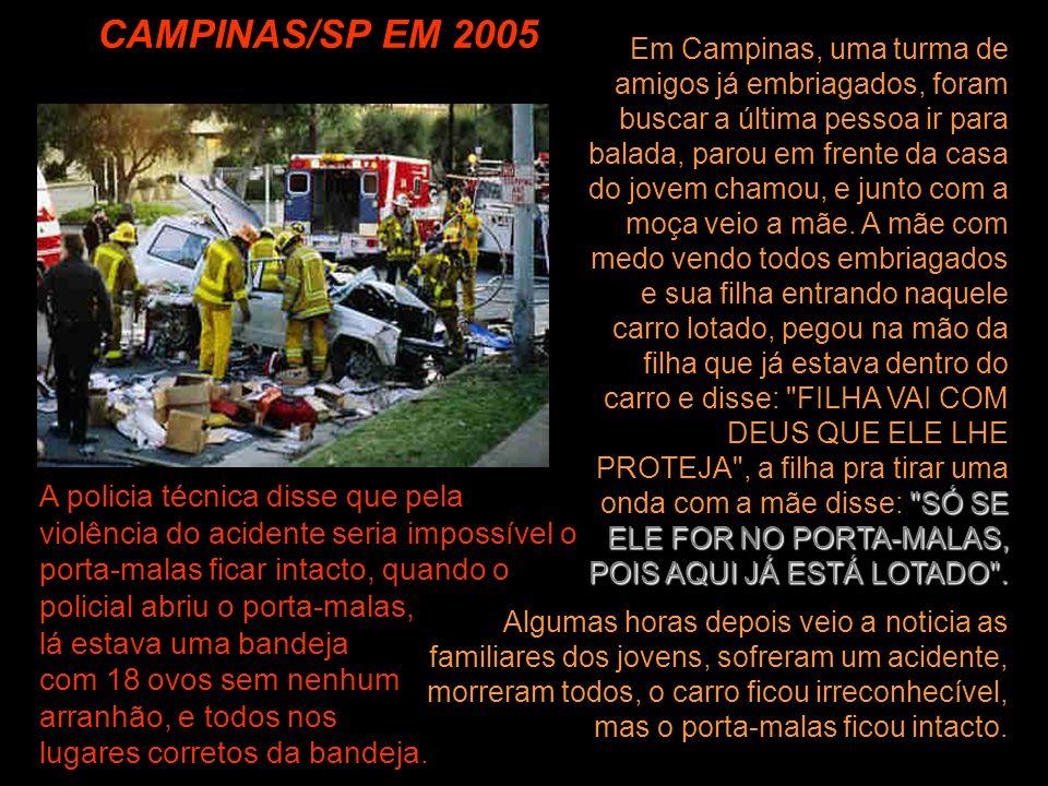 CAMPINAS/SP EM 2005
