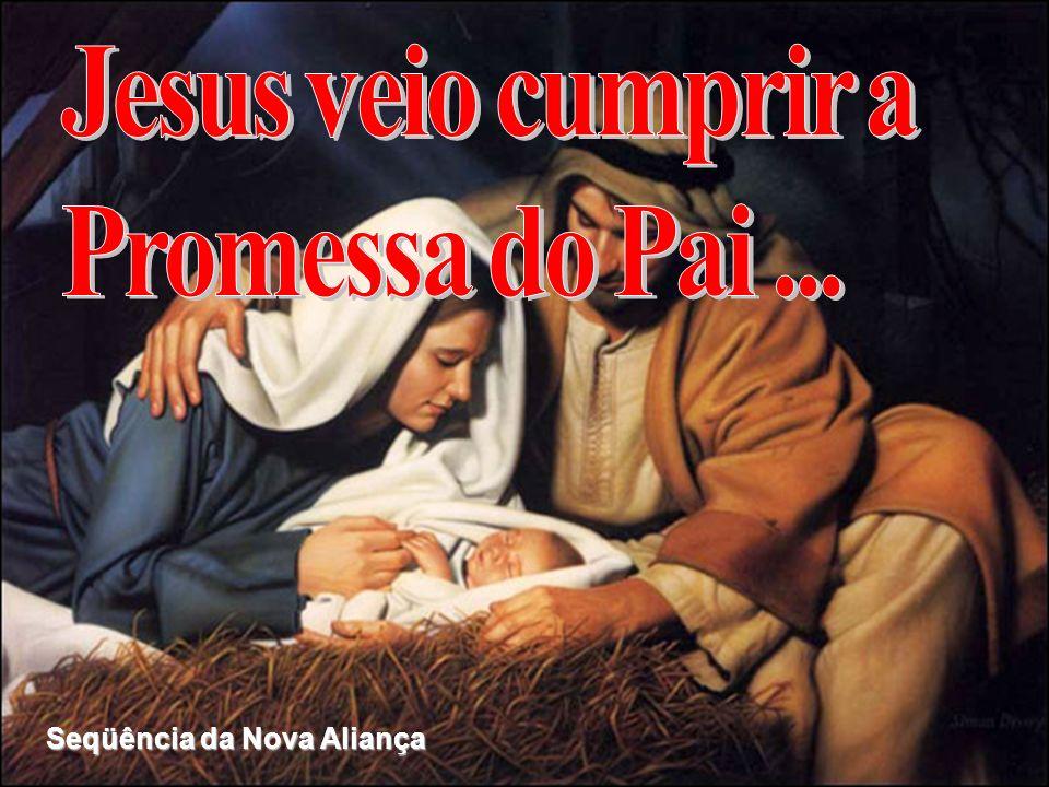 Jesus veio cumprir a Promessa do Pai ... Seqüência da Nova Aliança