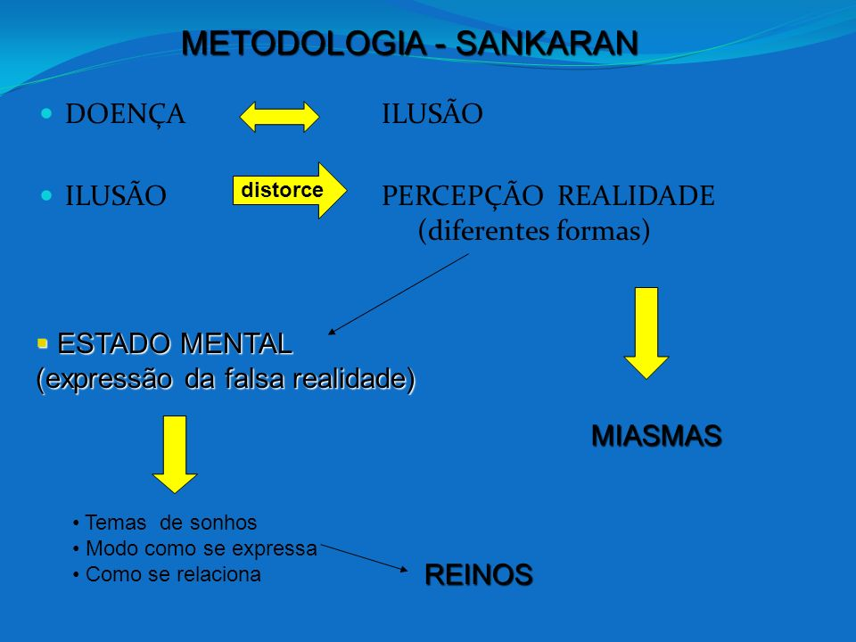 METODOLOGIA - SANKARAN