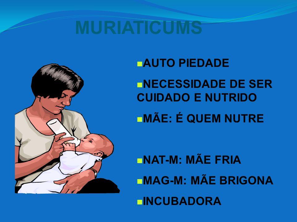 MURIATICUMS AUTO PIEDADE NECESSIDADE DE SER CUIDADO E NUTRIDO