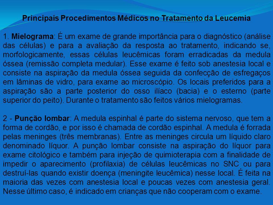 Principais Procedimentos Médicos no Tratamento da Leucemia