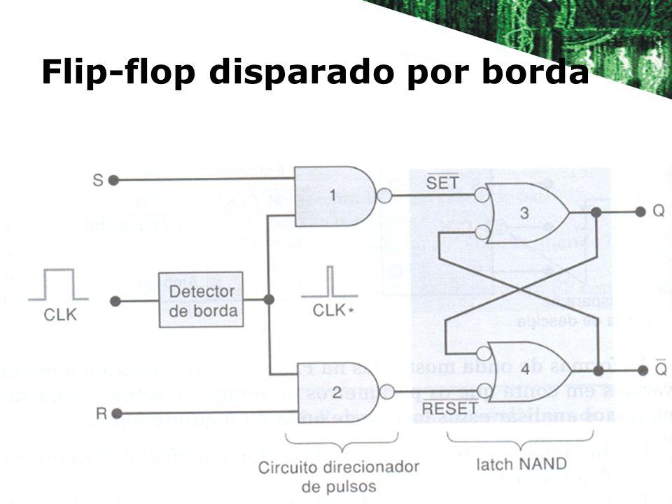 Flip-flop disparado por borda