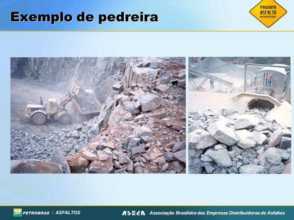 Exemplo de pedreira
