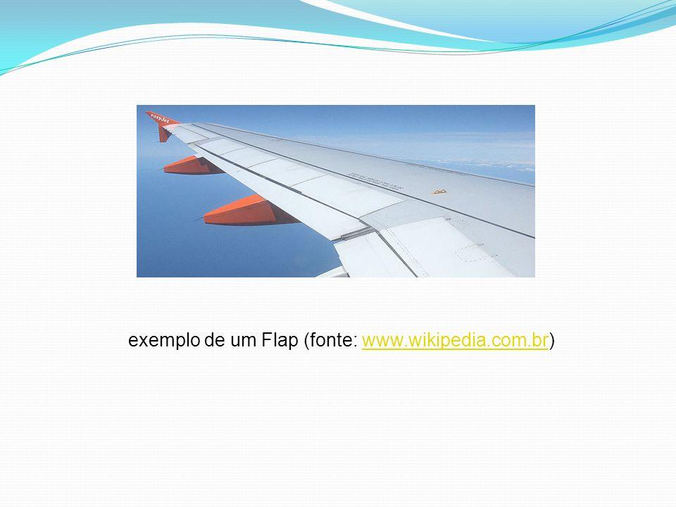 exemplo de um Flap (fonte: www.wikipedia.com.br)