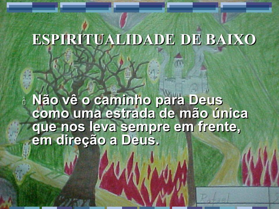ESPIRITUALIDADE DE BAIXO