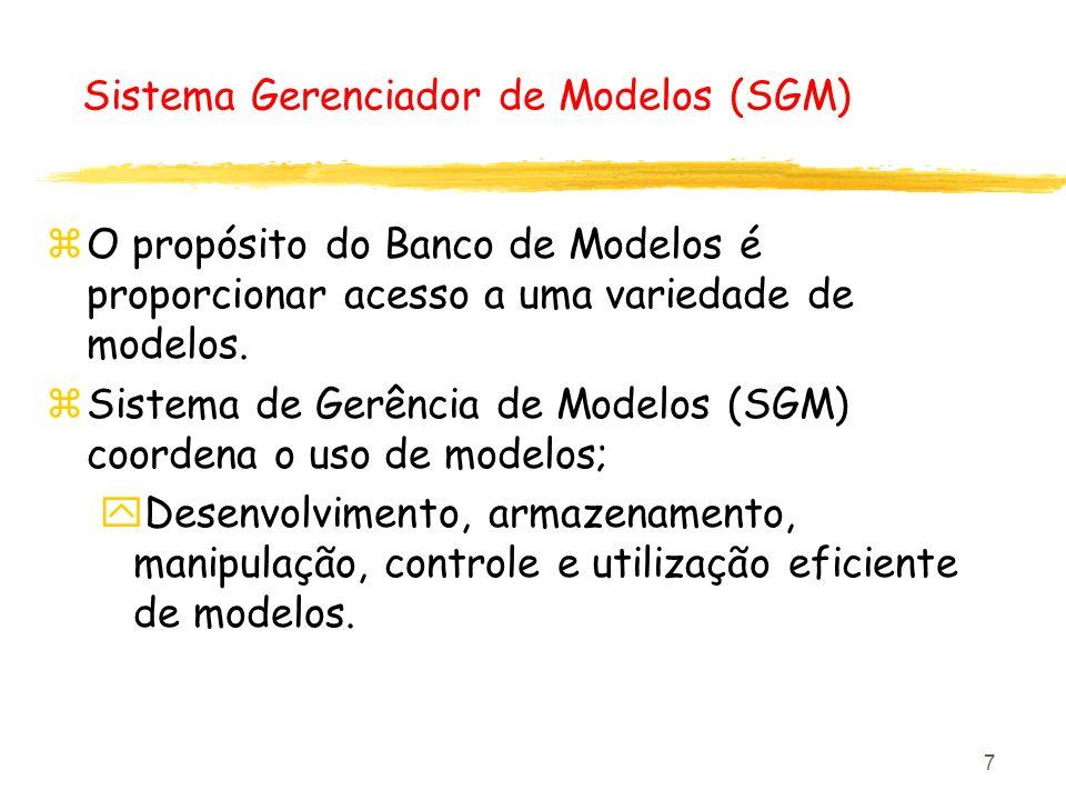 Sistema Gerenciador de Modelos (SGM)