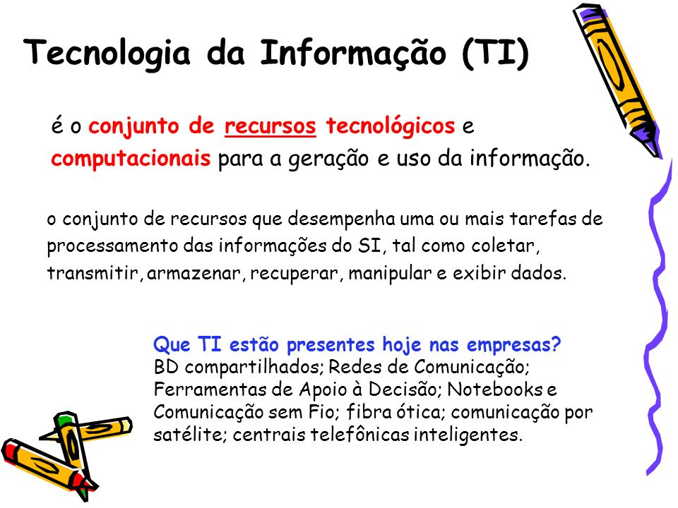 Tecnologia da Informação (TI)