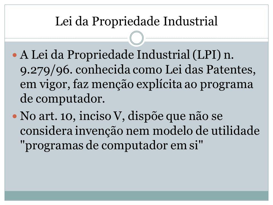Lei da Propriedade Industrial
