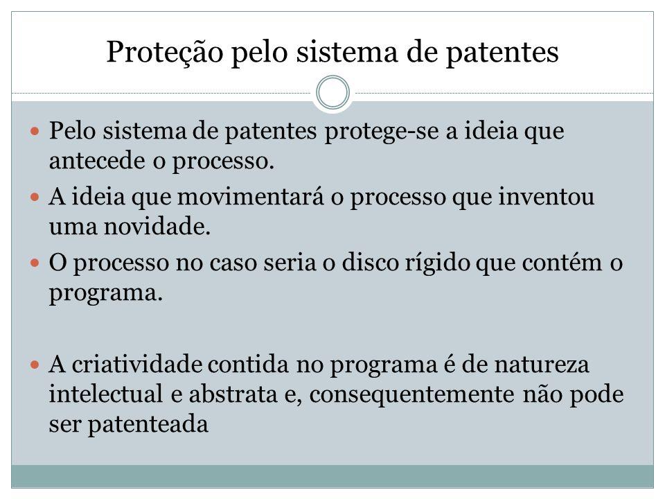 Proteção pelo sistema de patentes