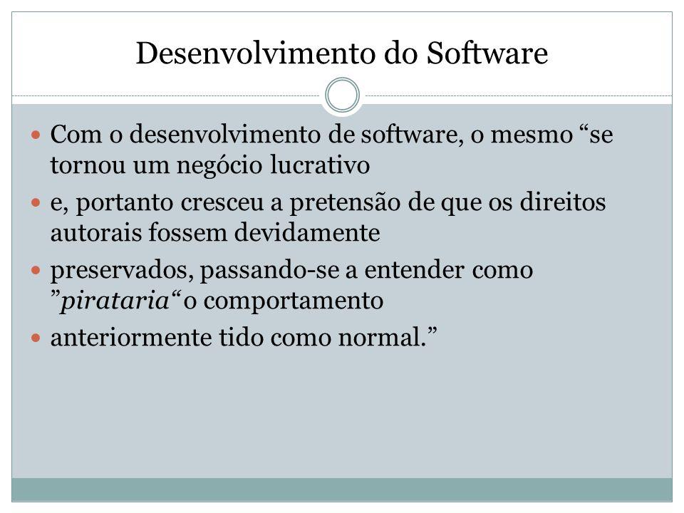 Desenvolvimento do Software
