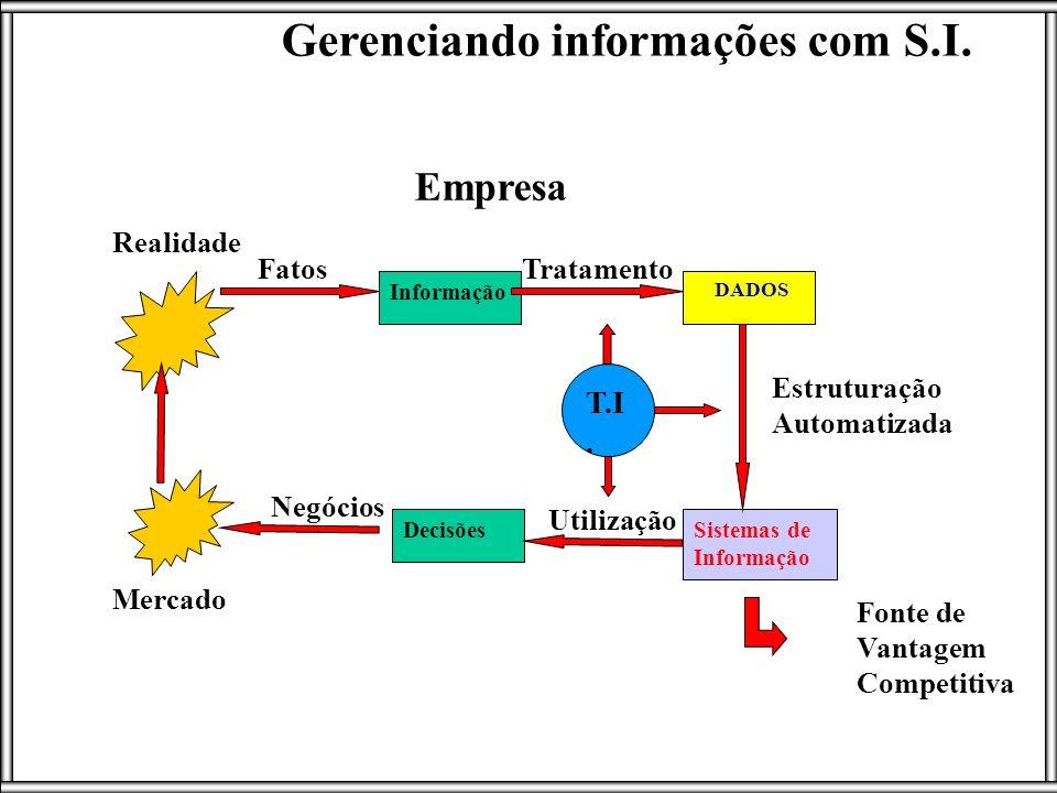 Gerenciando informações com S.I.