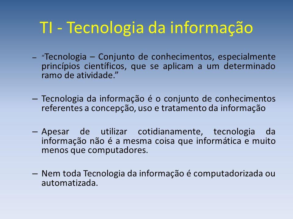 TI - Tecnologia da informação