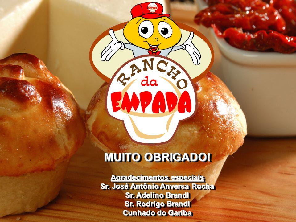 Agradecimentos especiais Sr. José Antônio Anversa Rocha