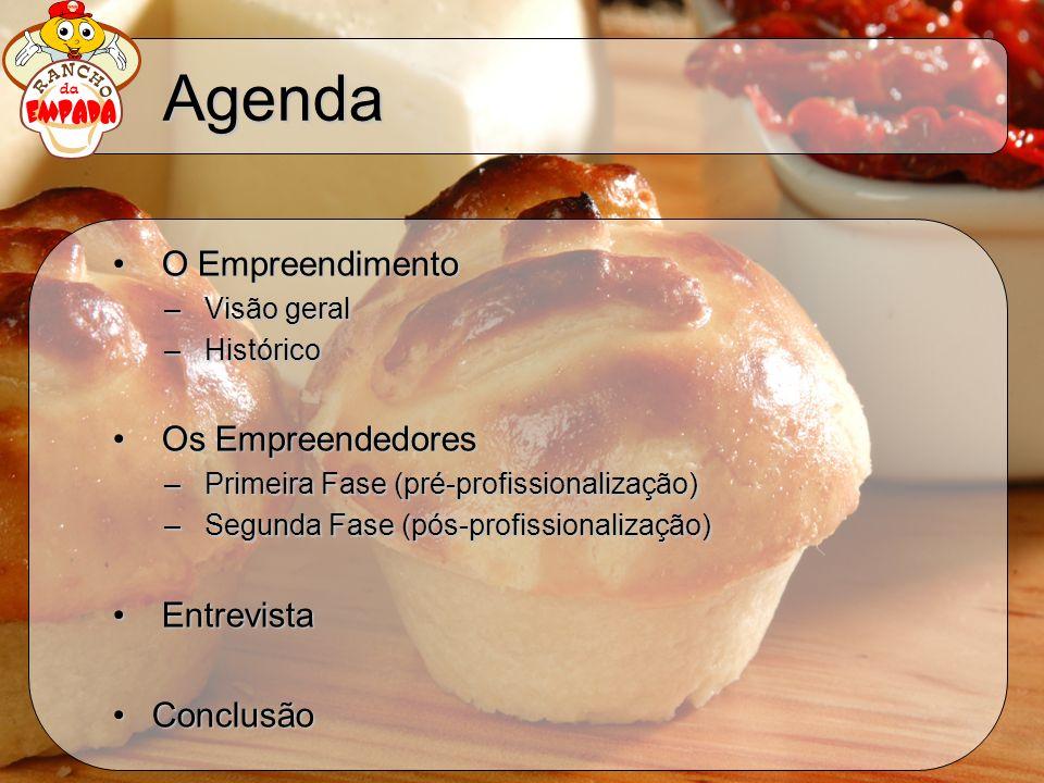 Agenda O Empreendimento Os Empreendedores Entrevista Conclusão