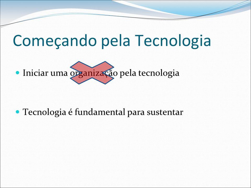 Começando pela Tecnologia