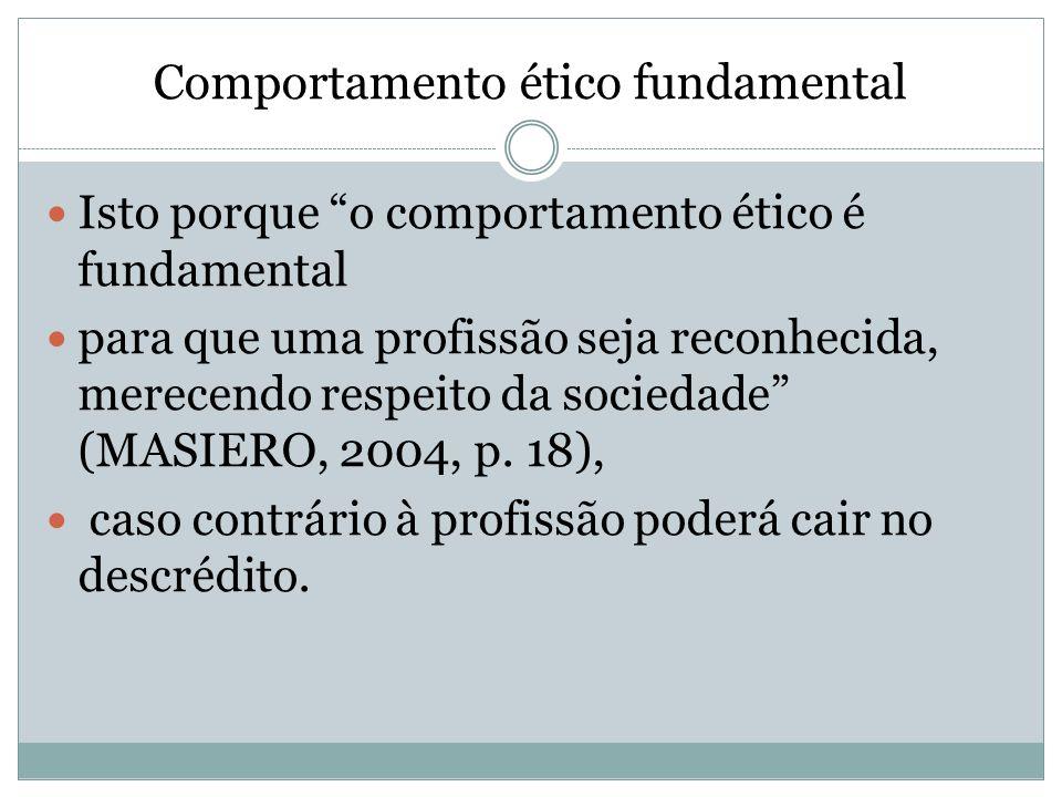 Comportamento ético fundamental