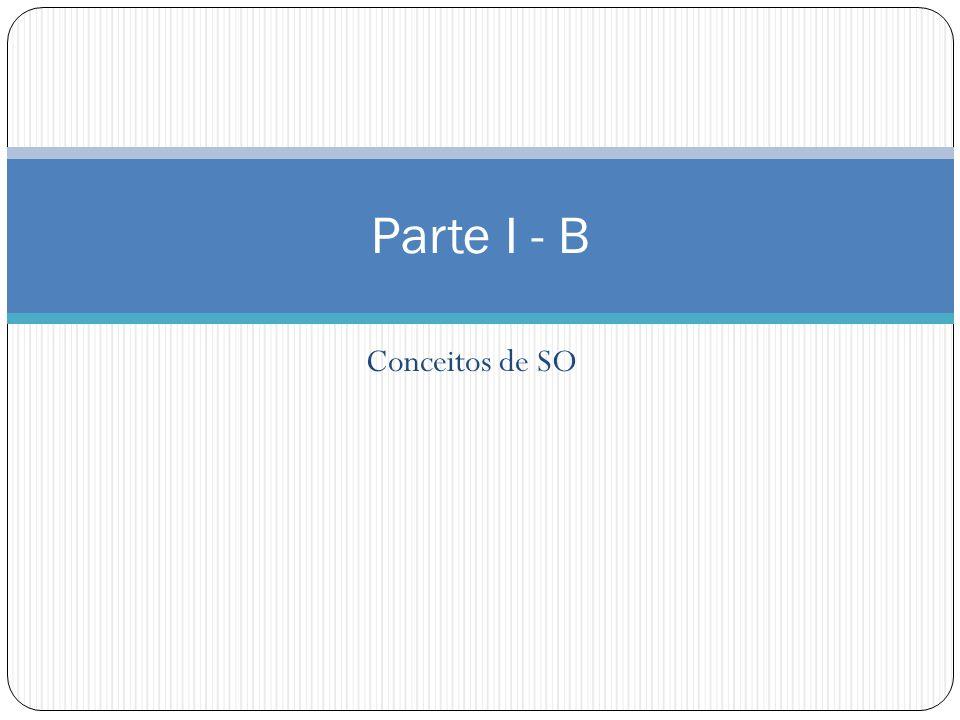 Parte I - B Conceitos de SO