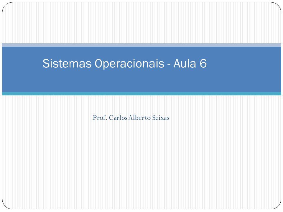Sistemas Operacionais - Aula 6