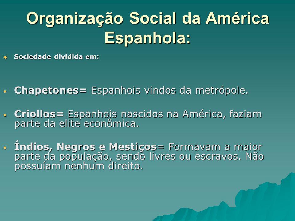 Organização Social da América Espanhola: