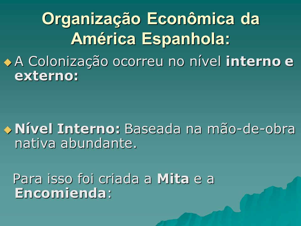 Organização Econômica da América Espanhola: