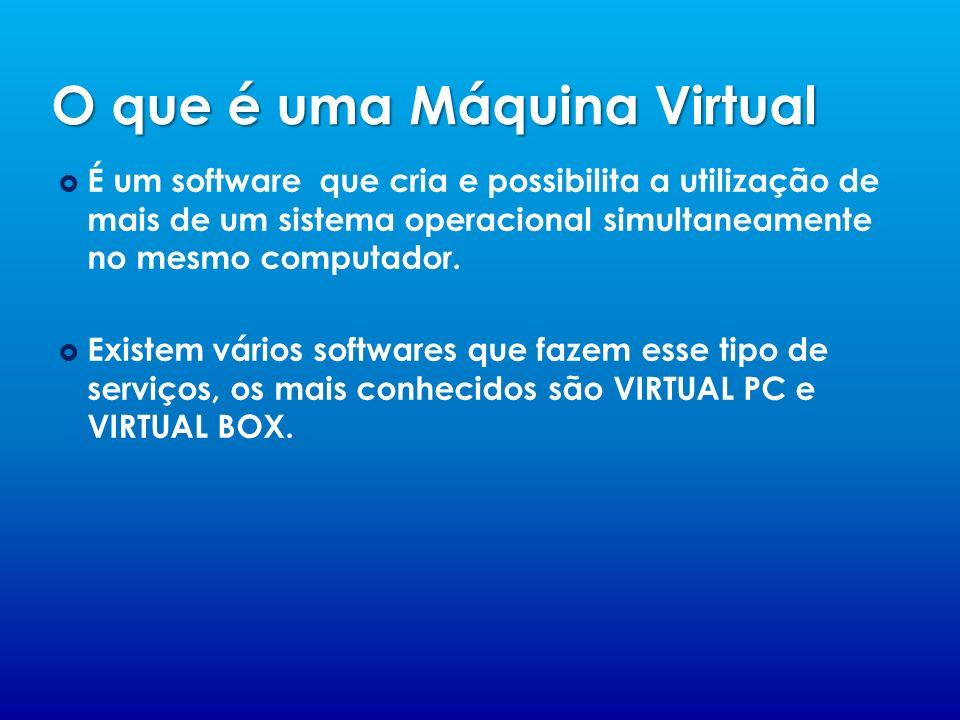 O que é uma Máquina Virtual