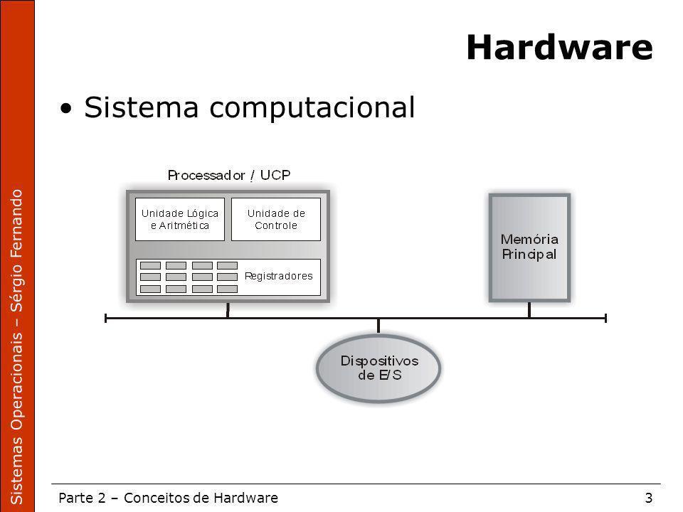 Hardware Sistema computacional