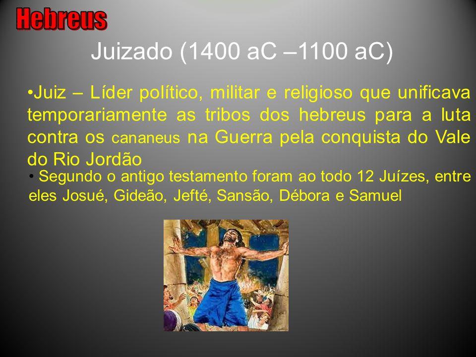 Hebreus Juizado (1400 aC –1100 aC)