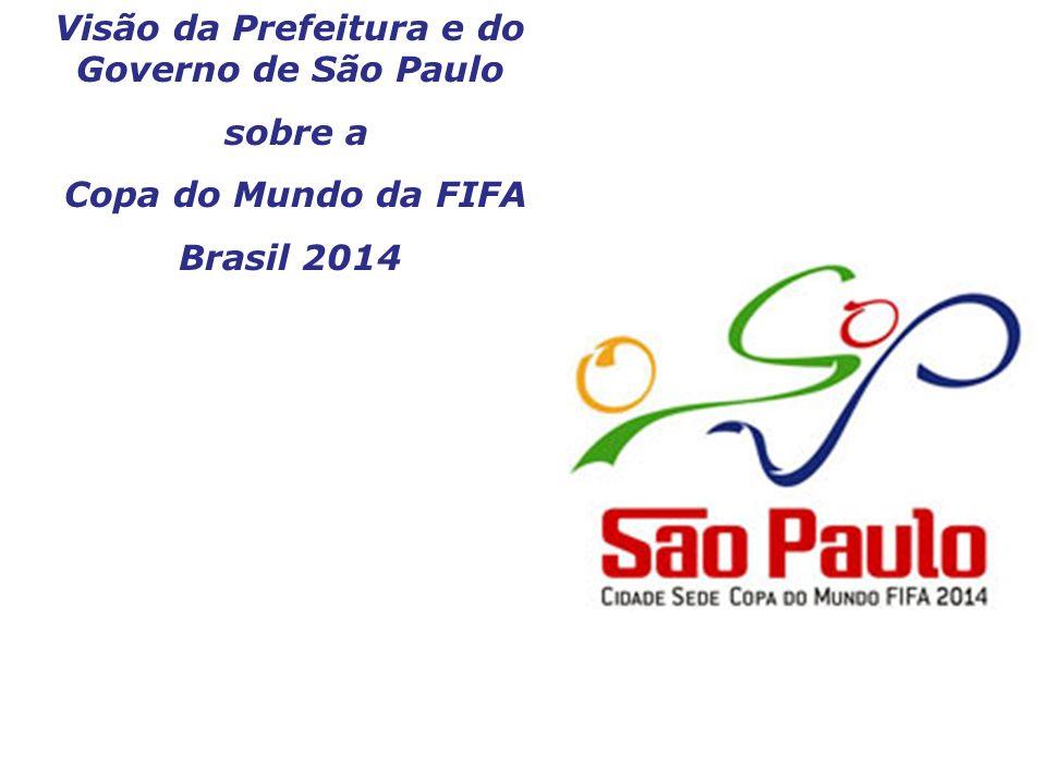 Visão da Prefeitura e do Governo de São Paulo