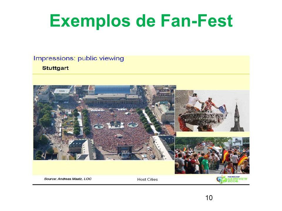 23/03/2017 Exemplos de Fan-Fest