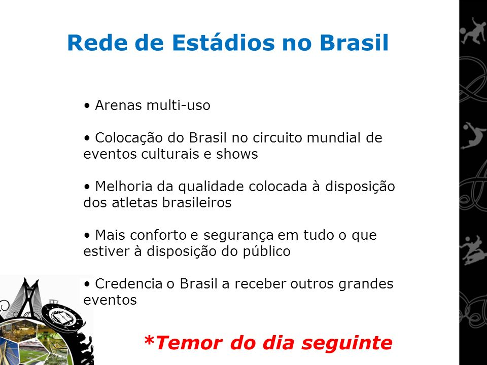 Rede de Estádios no Brasil