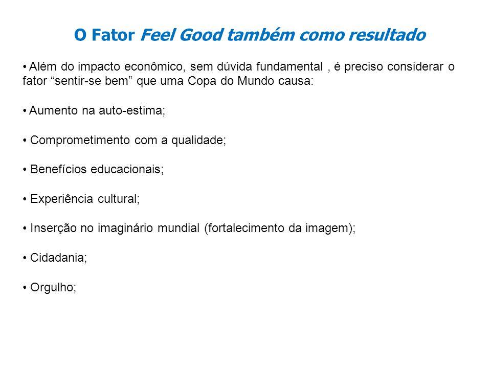 O Fator Feel Good também como resultado
