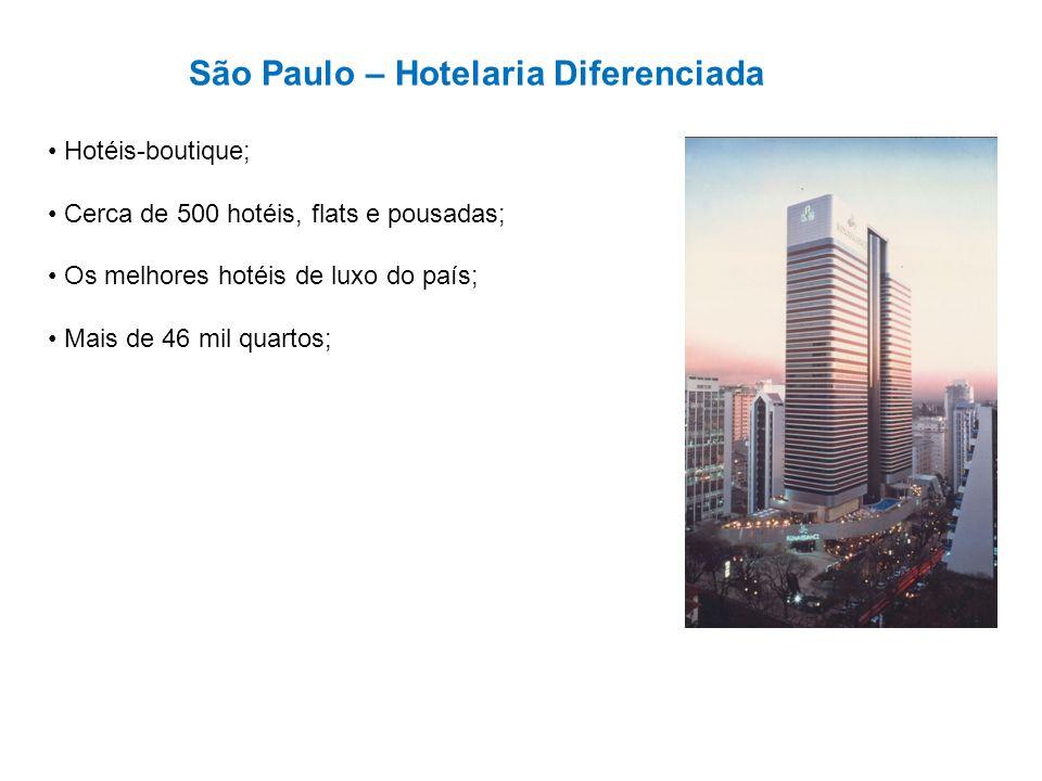 São Paulo – Hotelaria Diferenciada