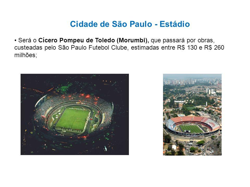 Cidade de São Paulo - Estádio
