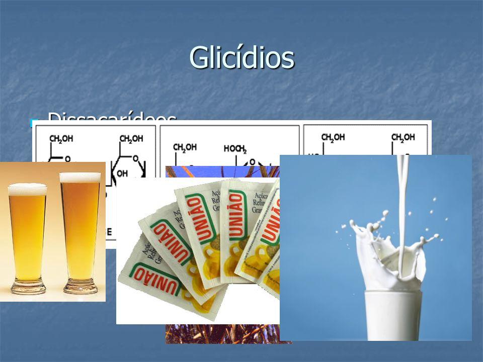 Glicídios Dissacarídeos