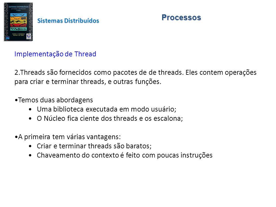 Implementação de Thread