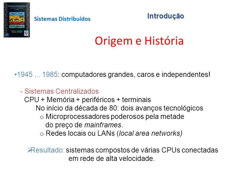 Origem e História Introdução