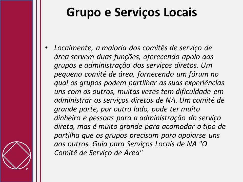 Grupo e Serviços Locais