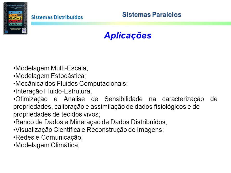 Aplicações Sistemas Paralelos Modelagem Multi-Escala;